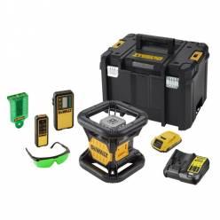 Аккумуляторный ротационный лазер DeWALT DCE079D1G (зеленый луч)